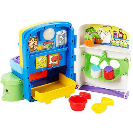 Fisher-Price - Laugh & Learn Learning Kitchen - Walmart.com