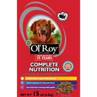 Ol' Roy Complete Nutrition Dry Dog Food, 15 Lbs.