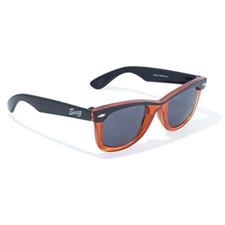 Classic Wayfarer Look in Translucent Orange by Swag