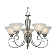 Golden Lighting Candace Nine Light Chandelier - Pewter