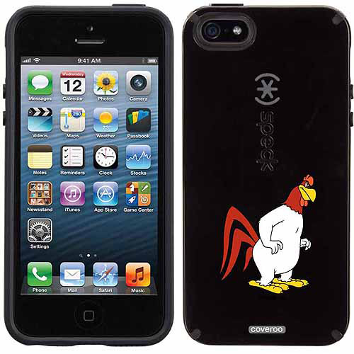 Foghorn Facing Right Design on Apple iPhone 5SE/5s CandyShell Case by Speck