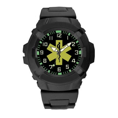 EMT Rubberized Tactical Watch