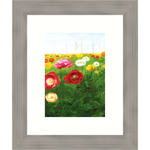 Field of Poppies I Print