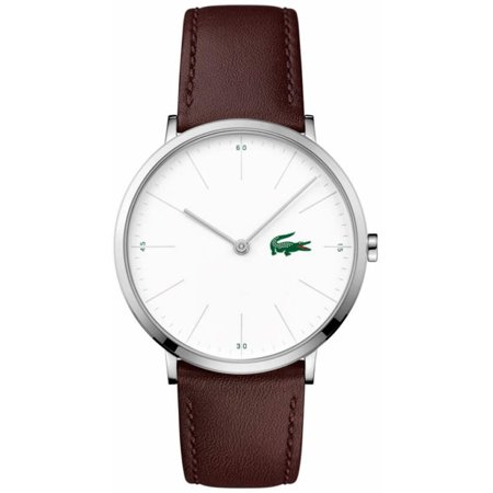 Men's Lacoste Moon Brown Leather Strap Watch 2010872