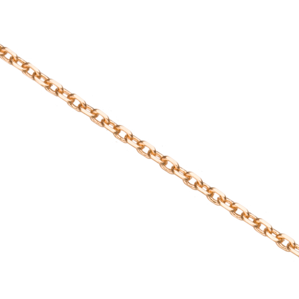 Gold Diamond-Cut Cable Chain, Gold Finished Brass 1.6mm Sold per pkg of 5 Ft