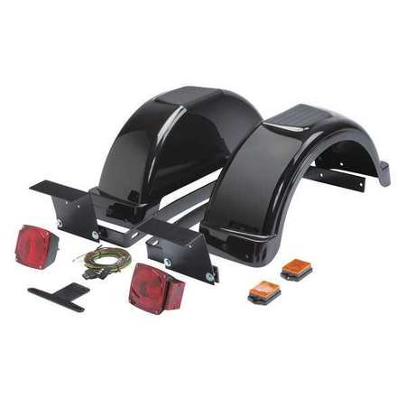 LINCOLN ELECTRIC K2639-1 Fender and Light Kit,For Welder Trailers