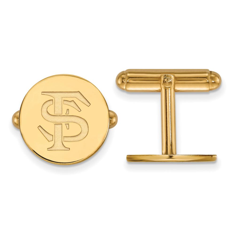 Florida State Cuff Links (Gold Plated)