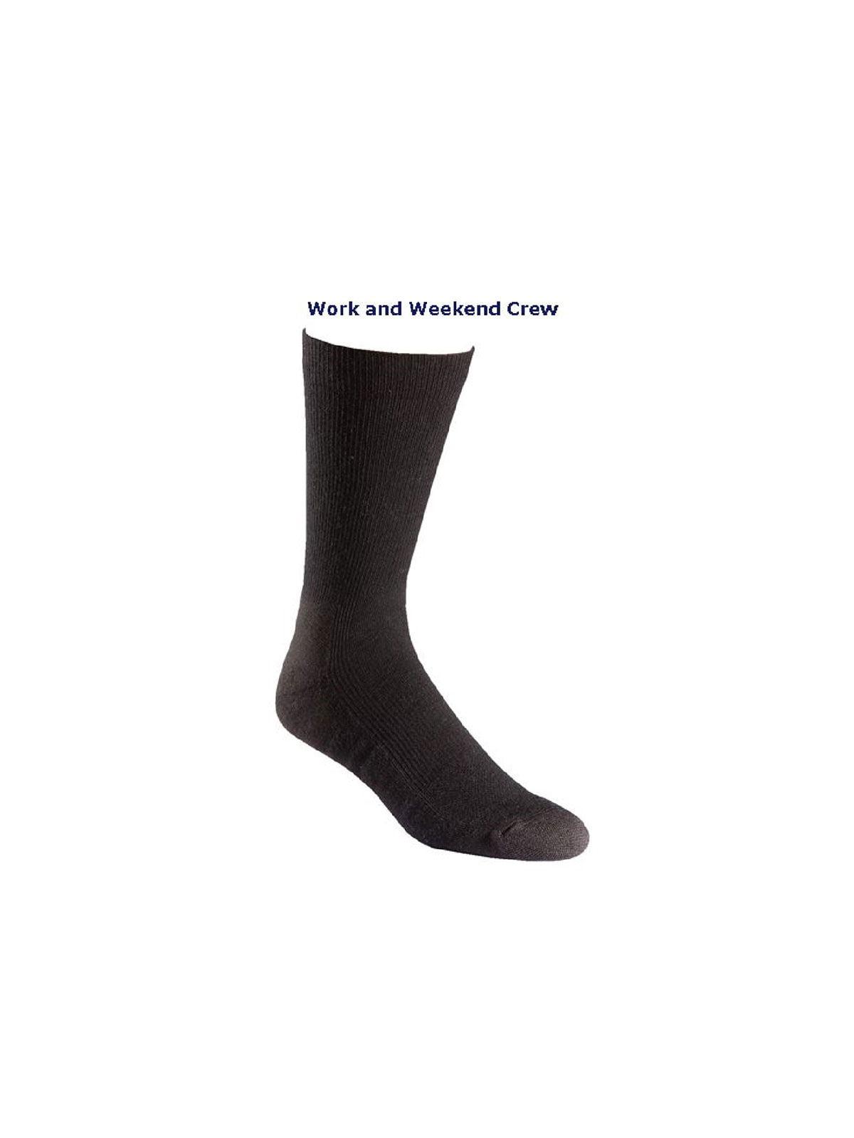 FoxRiver Work and Weekend Lightweight Moisture Wicking Crew Socks