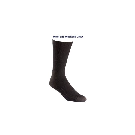 Fox River 6532 Men's Work & Weekend Lightweight Crew Cut Everyday Socks 2-Pack