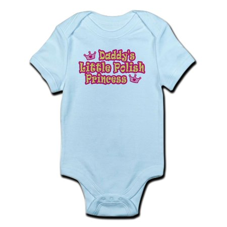 CafePress - Daddy's Little Polish Princess Infant Creeper - Baby Light Bodysuit](Princess Peach Onesie)