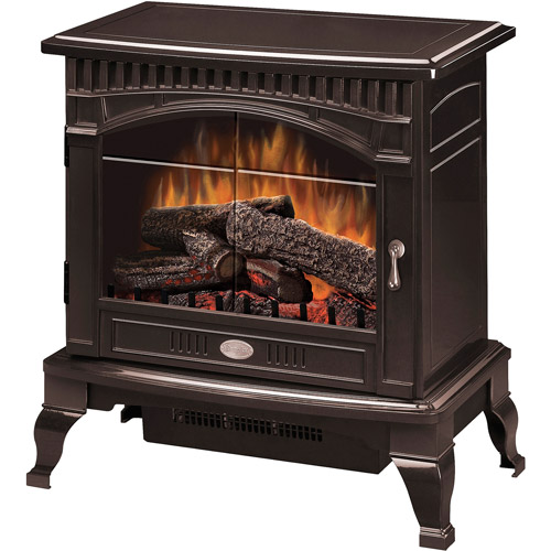 Dimplex Electric Flame Traditional Stove, Bronze