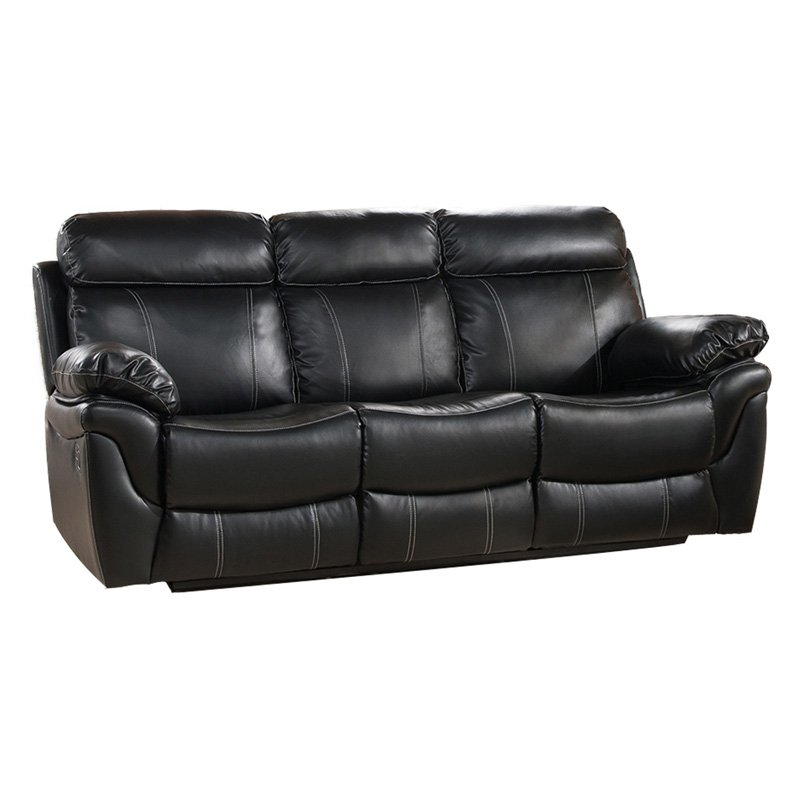 Homegear Modern Faux Leather Convertible 3 Seater Sofa / Futon Couch Guest  Cream - Walmart