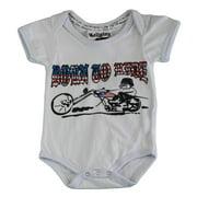 Religion Unisex Baby's Born To Ride Bodysuit