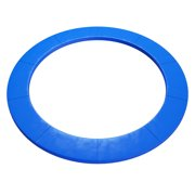 Topbuy 15 FT Round Trampoline Replacement Safety Pad Spring Frame Edge Cover Blue