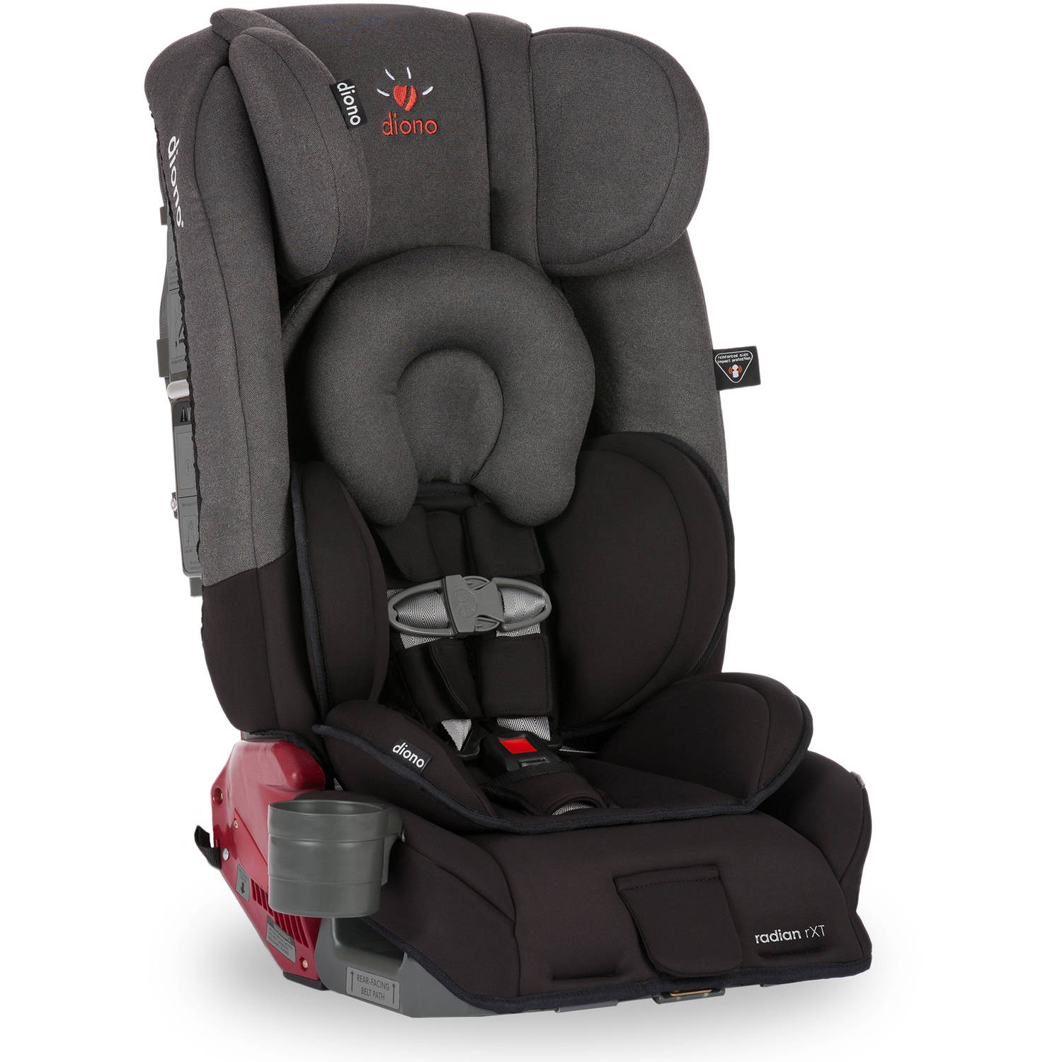 Diono Radian rXT Convertible Car Seat and Booster, Black Mist