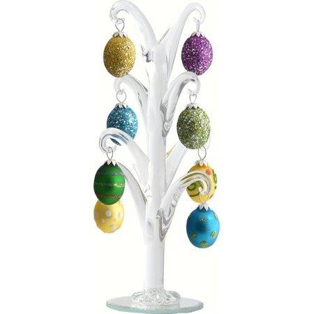 The Holiday Aisle Crystal Easter Tree with Egg Ornament
