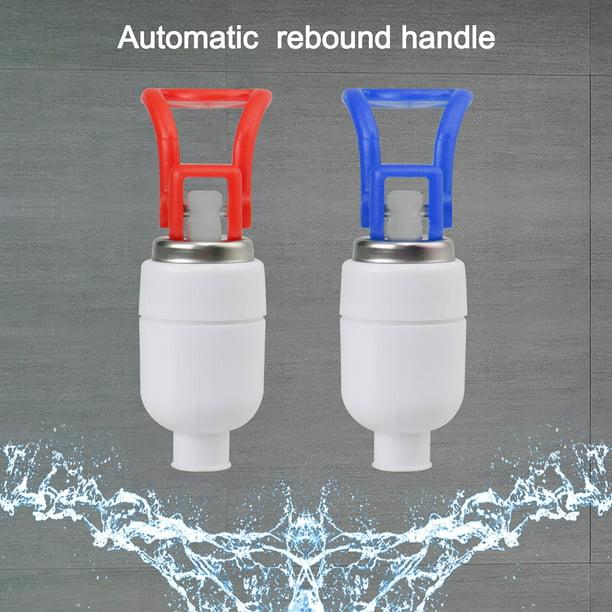 Household Office Plastic Push Handle Water Dispenser Replacement Tap Faucet 2pcs