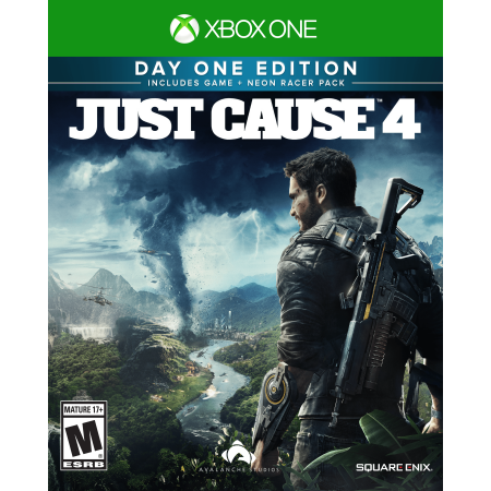 Just Cause 4 Day One Limited Edition, Square Enix Xbox One,