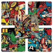 Marvel Retro Style Stickers - 75 Per Pack