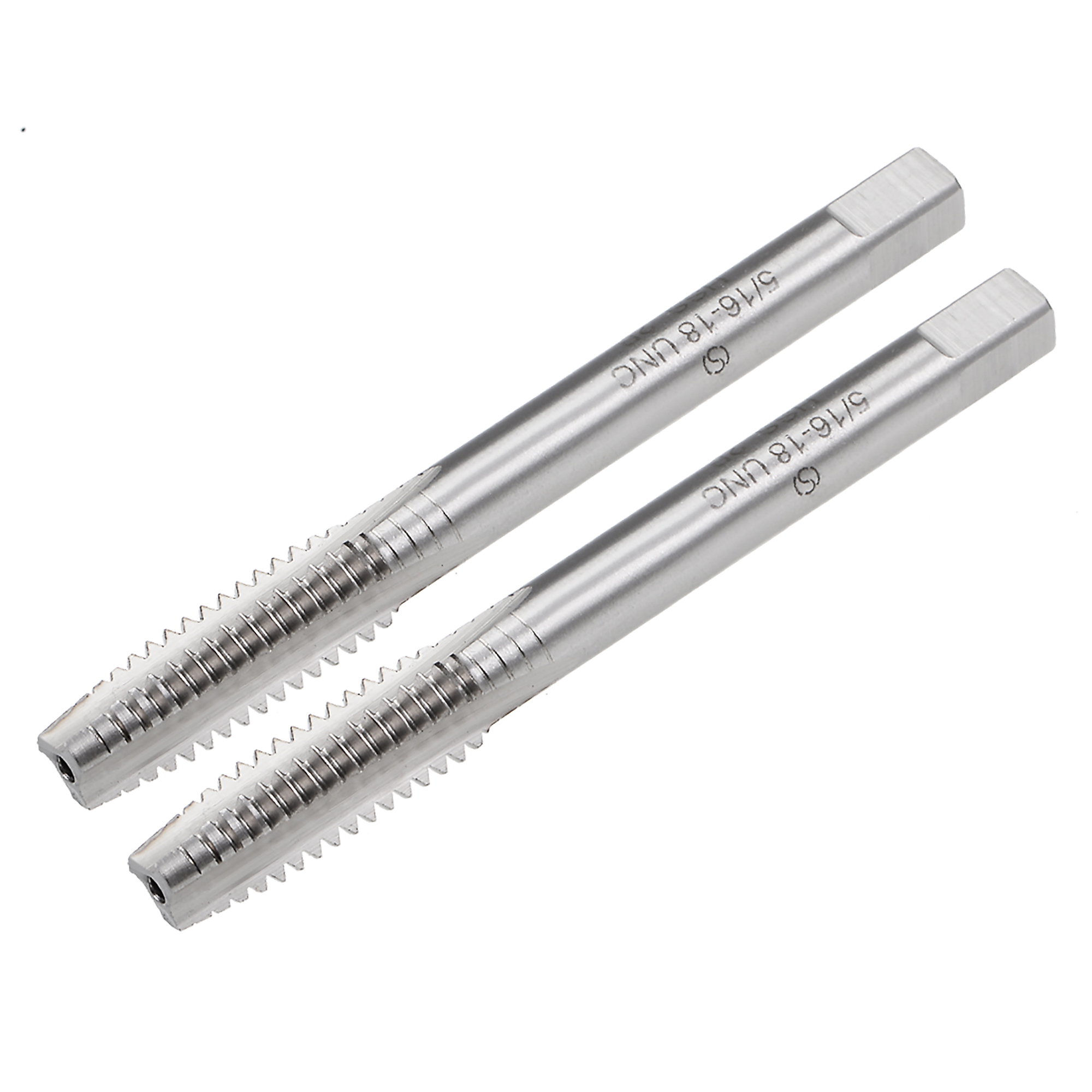 Machine Tap 5//16-18 UNC Thread Pitch 2B 3 Flutes High Speed Steel