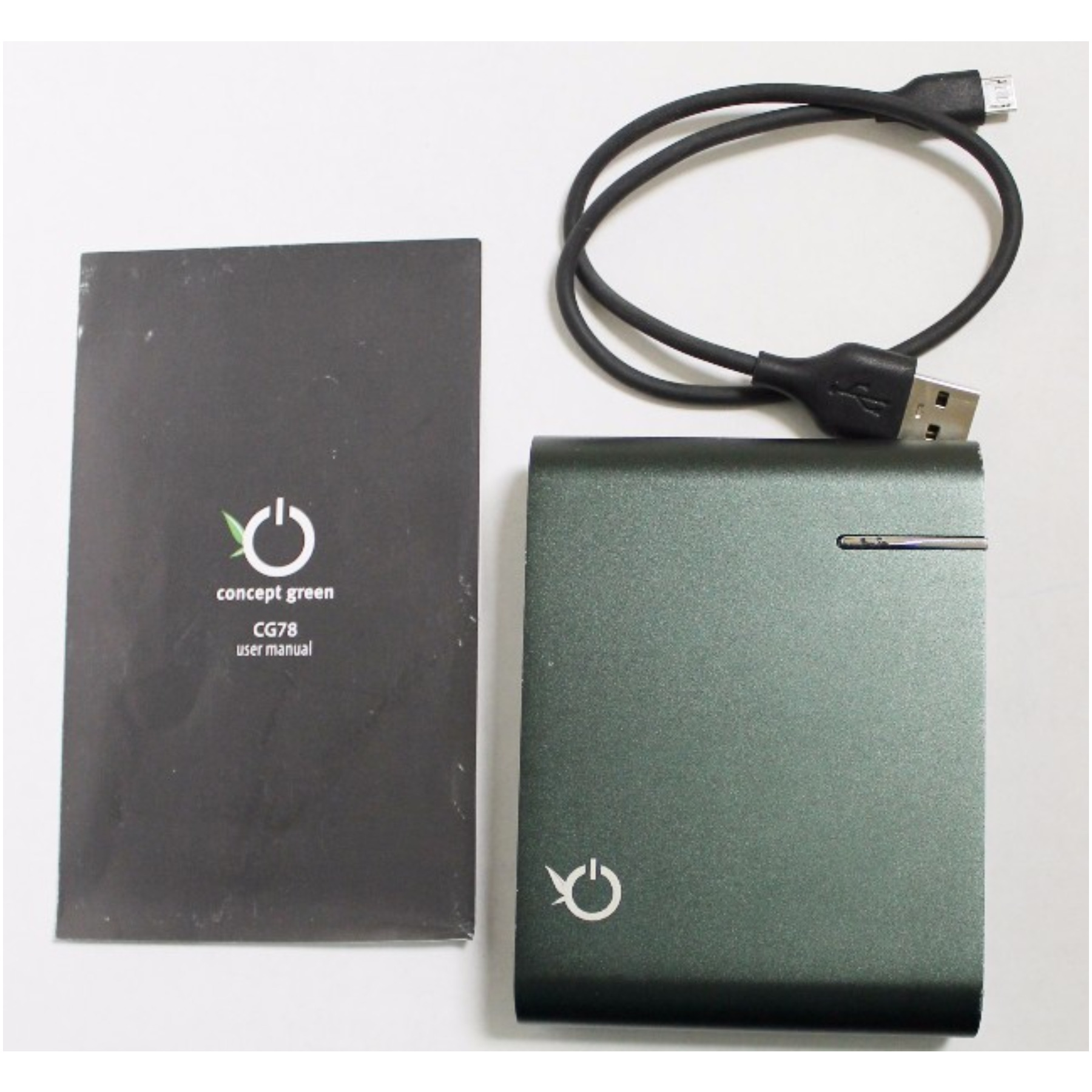 Concept Green CG78-G Battery Portable Charger - 3600mah