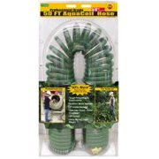Best Coiled Garden Hose 50 Fts - Flexon PCH5850 Coil Hose, Green, 50 feet Review