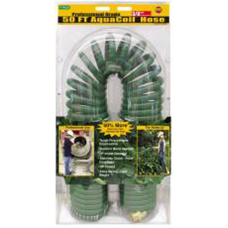 Watering Hose 50 Feet Coil - Self-Coiling Garden Hose 50' 701013C