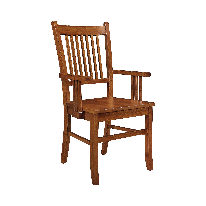 Coaster Everyday Marbrisa Slat Back Arm Chairs Sienna Brown Set Of 2 Walmart Com Walmart Com