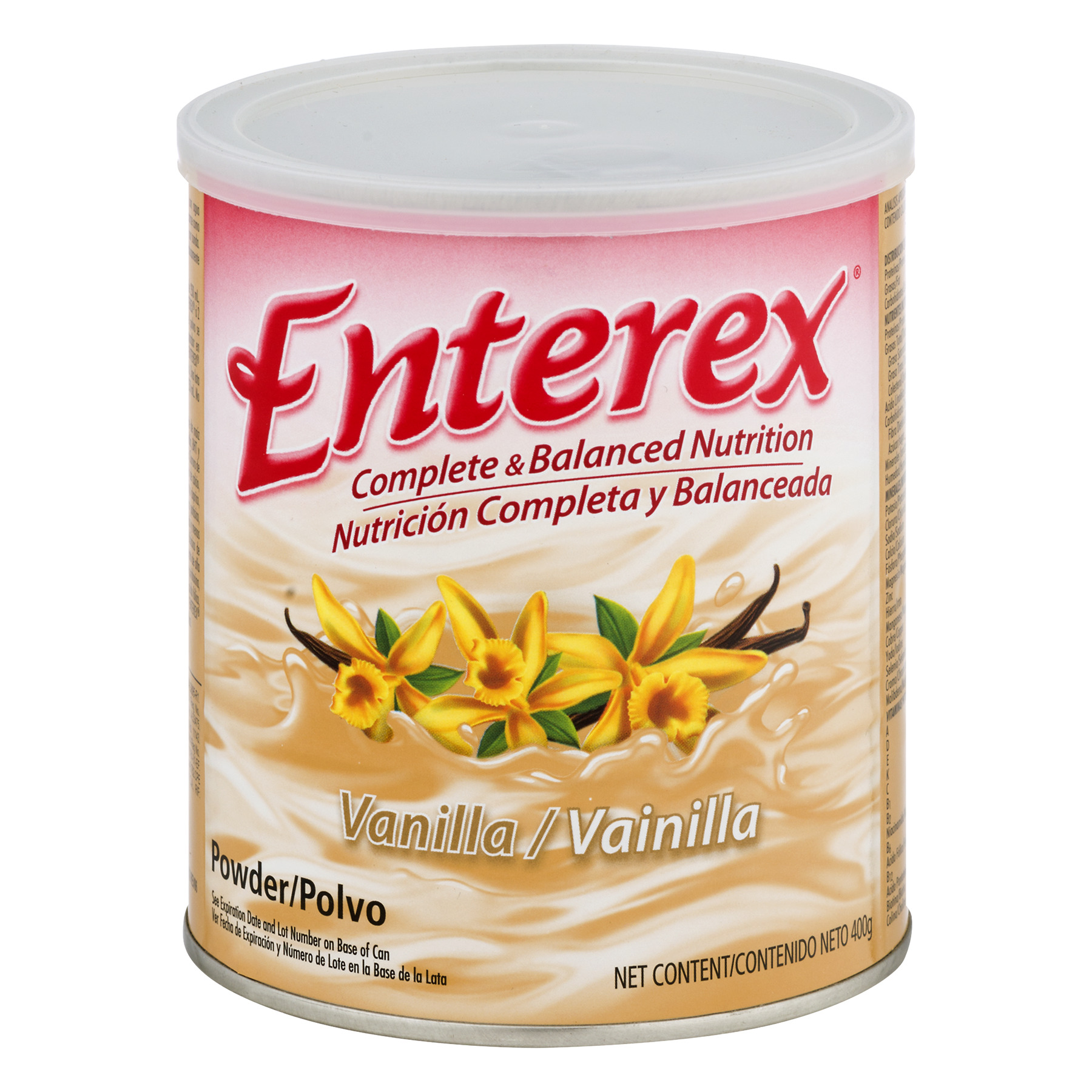 Enterex Complete & Balanced Nutrition Vanilla Powder Drink, 400 g
