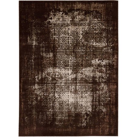 Nourison Karma KRM01 Machine-Made Textured Rug