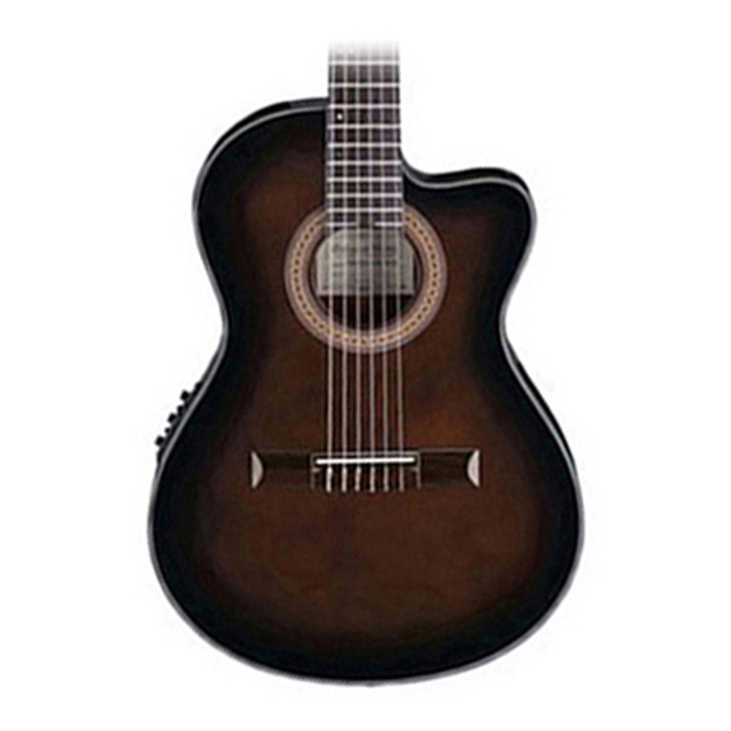 ibanez ga35tce thinline acoustic electric classical guitar in dark violin burst. Black Bedroom Furniture Sets. Home Design Ideas