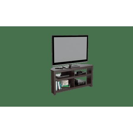 Inval Contemporary Espresso 60 Inch Flat Screen Tv Stand