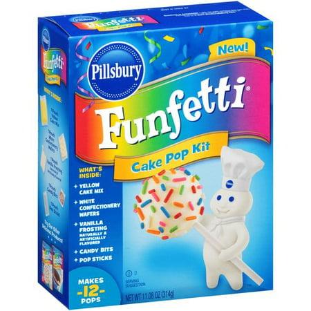 Pillsbury Funfetti Cake Pop Mix