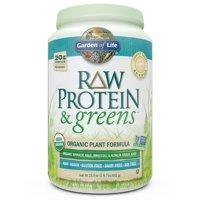 Garden of Life Raw Protein & Greens Powder, Lightly Sweet, 20g Protein, 1.4lb, 23.0oz