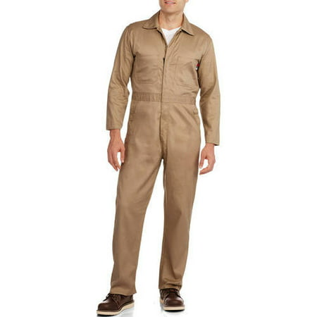 Big Men's Flame Resistant Contractor Coverall, HRC Level 2 ()