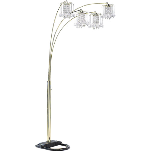 ORE International Floor Lamp, Polished Brass by ORE INTERNATIONAL INC