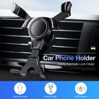 Fysho Universal Car Phone Gravity Holder One-Handed Design Air Vent Mount Holder