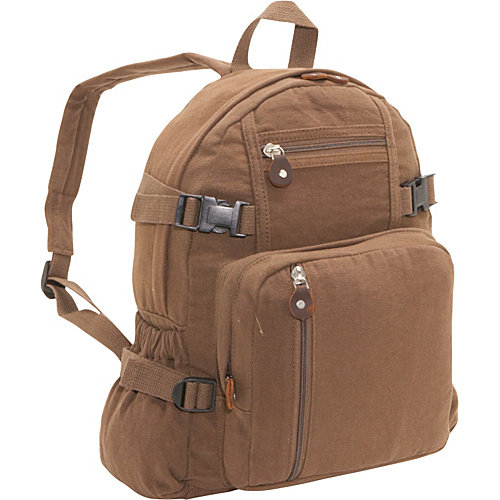 ROTHCO VINTAGE MINI BACKPACK - EARTH BROWN
