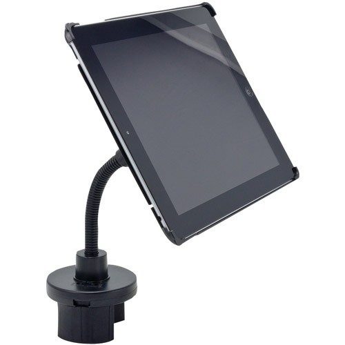 Arkon Ipm3-123g Cup Holder Mount with Custom Fit Holder for Apple iPad 2 and iPad 3