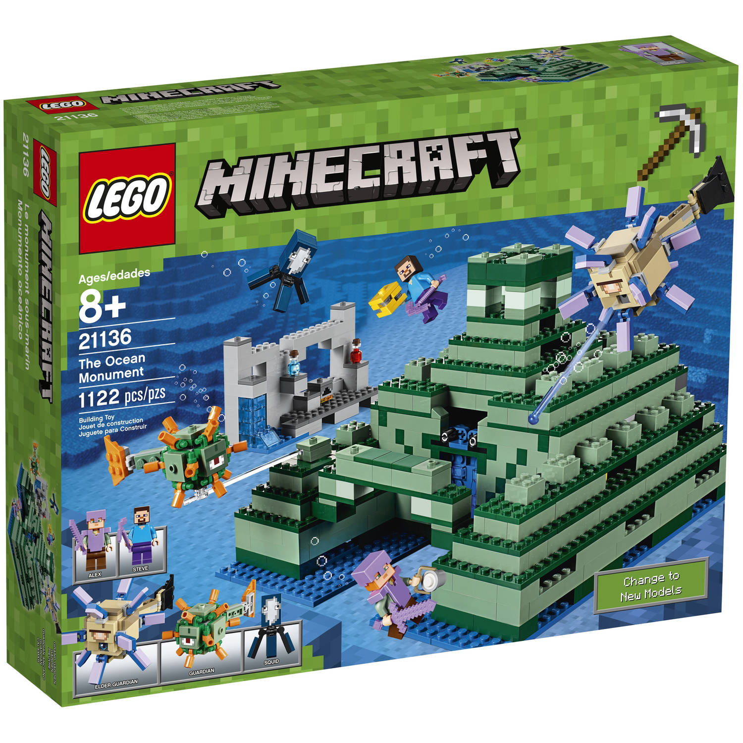 Lego Minecraft The Ocean Monument 21136 by LEGO Systems, Inc.