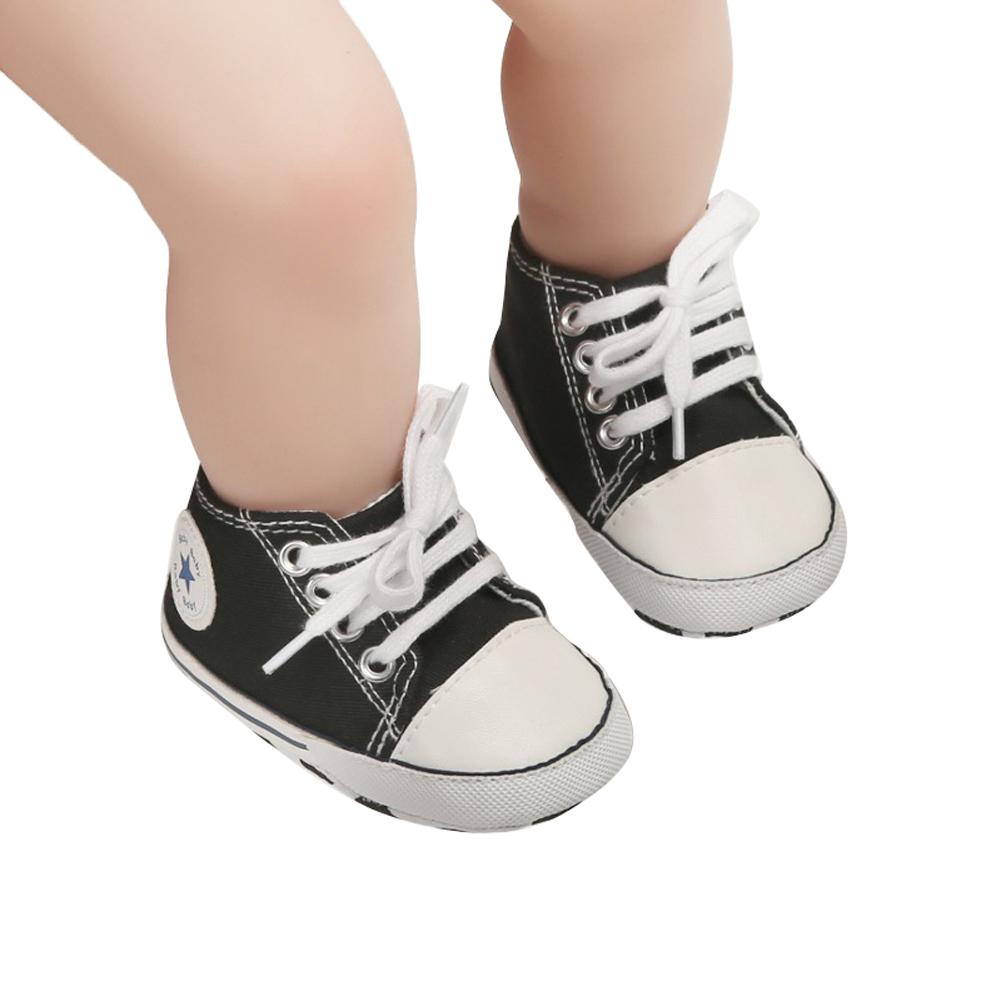 LA HIEBLA Toddler Canvas Shoes Casual