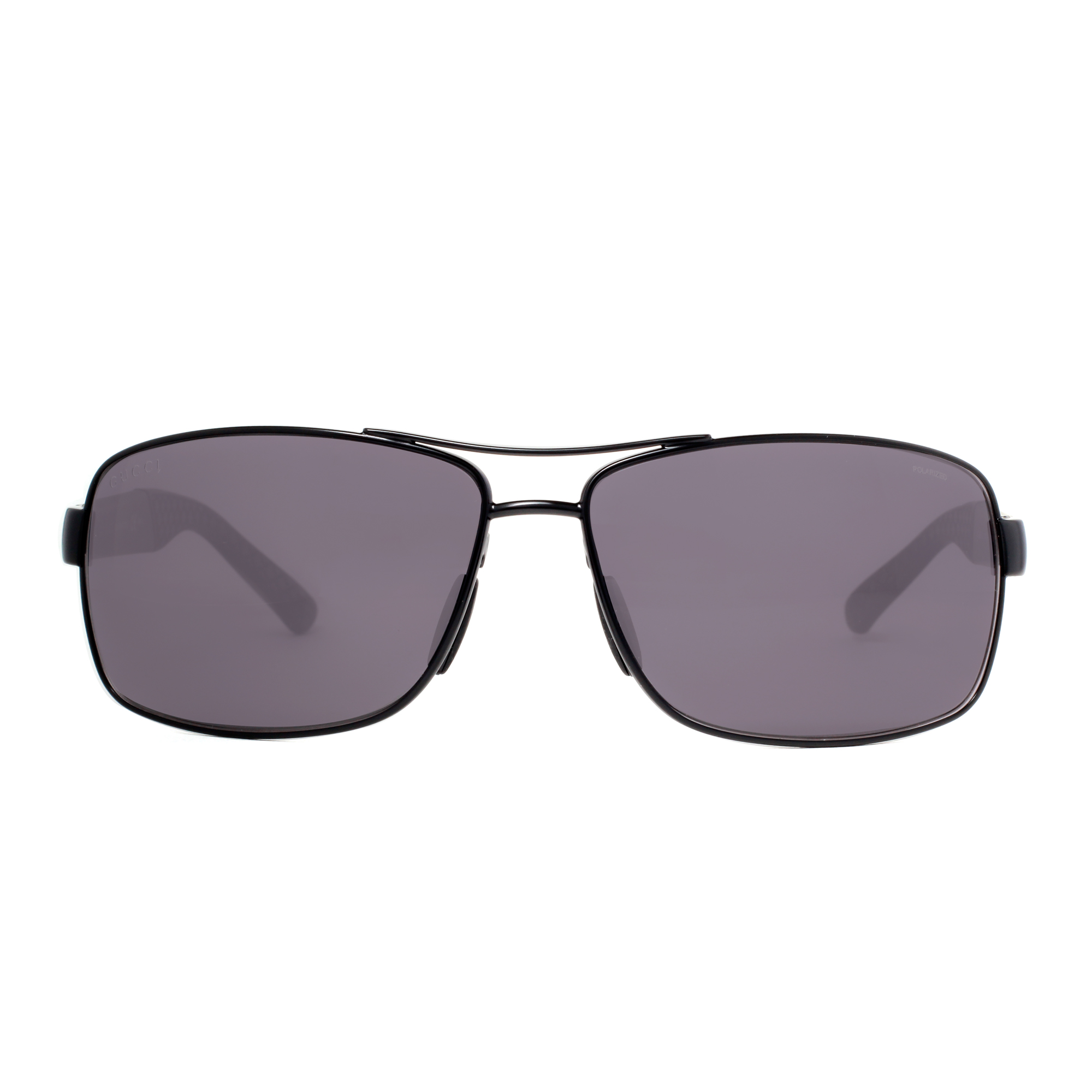 a8067f7fc9700 Gucci - GG 2234 S C0Y 3H Matte Black Grey Polarized Men s Rectangular  Sunglasses - Walmart.com