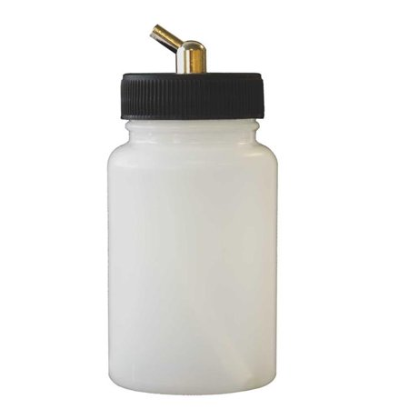- Paasche 3oz Plastic Bottle Assembly for H model Airbrush