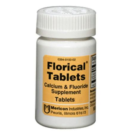 Florical Le calcium et le fluorure suppléments Comprimés 500 ch