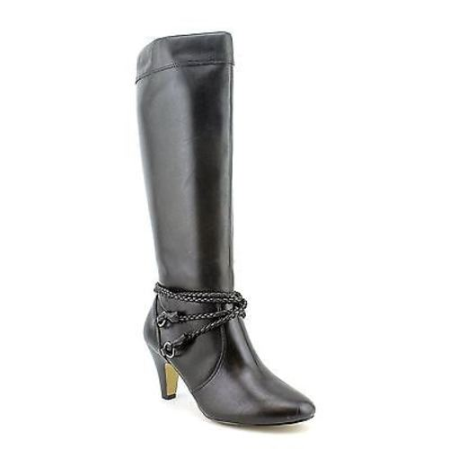 Bella Vita CANDICE II Womens Black Zip Up Fashion Comfort Knee High Heel Boots by Bella Vita