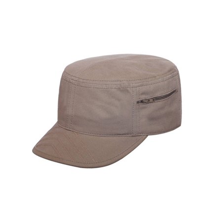 Soft Brushed Canvas Cap (Cadet Brushed Canvas Army Cap)