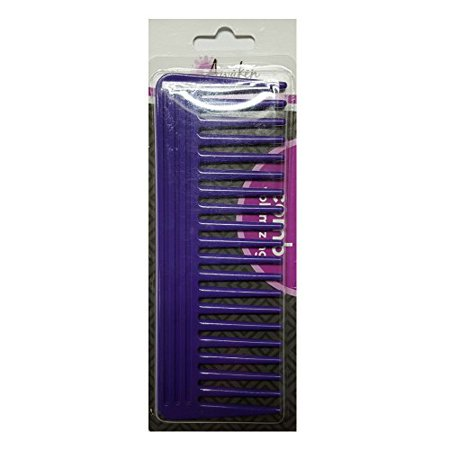 2 Pack Quality Choice Wide Tooth Detangling Volumizing Comb 1 Each