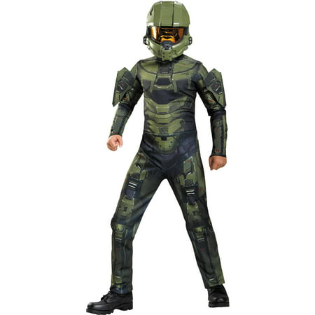 Master Chief Costum (Boys Halo Master Chief Classic)