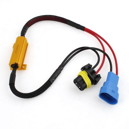 Auto Car 9005 DRL Fog Light Warning Canceller Error Free Decoder Wire