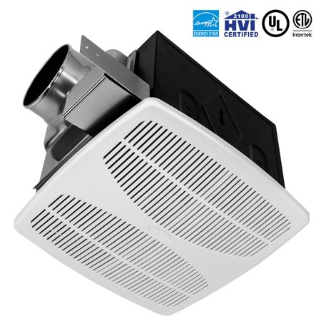Bv Super Quiet 110 Cfm 1 3 Sones Bathroom Ventilation Exhaust Fan